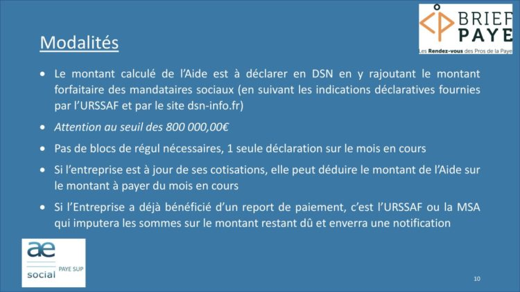 Page 10 750x422 - Replay du webinaire Brief Paye Septembre 2020