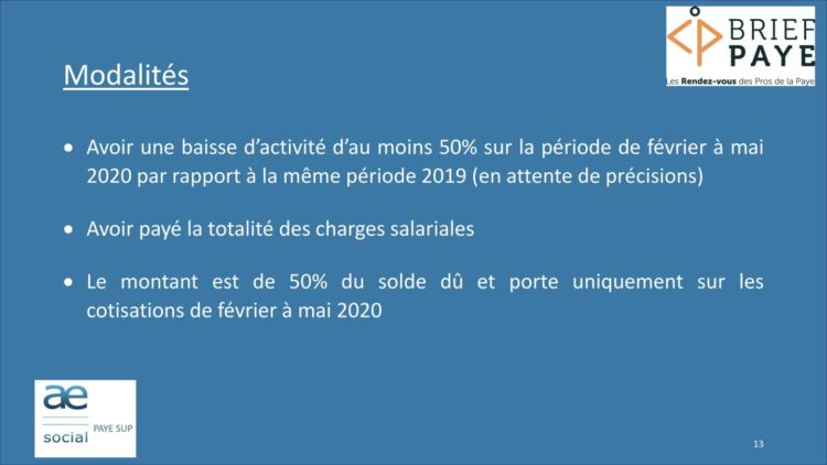 Page 13 750x422 - Replay du webinaire Brief Paye Septembre 2020