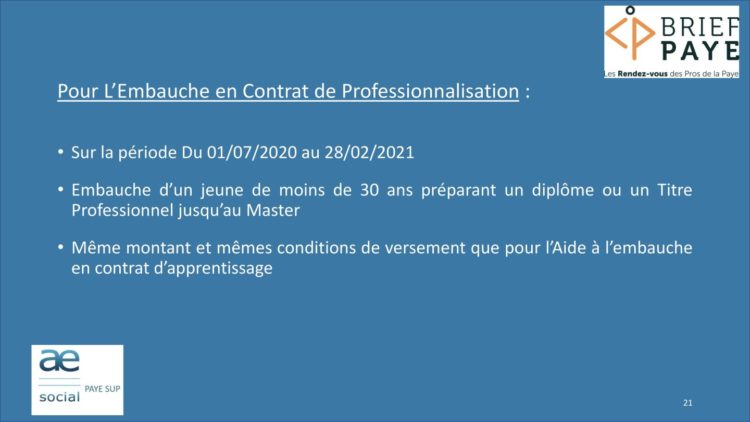 Page 21 750x422 - Replay du webinaire Brief Paye Septembre 2020