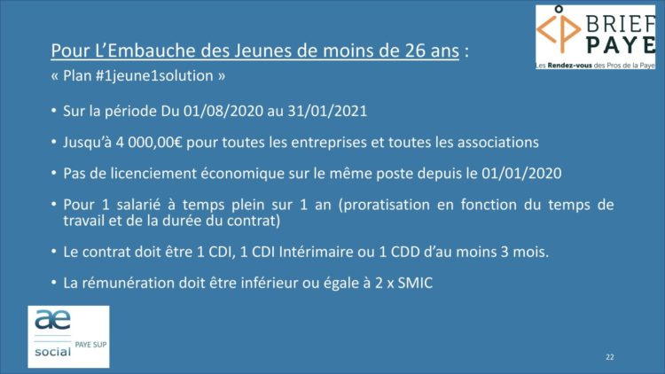 Page 22 750x422 - Replay du webinaire Brief Paye Septembre 2020