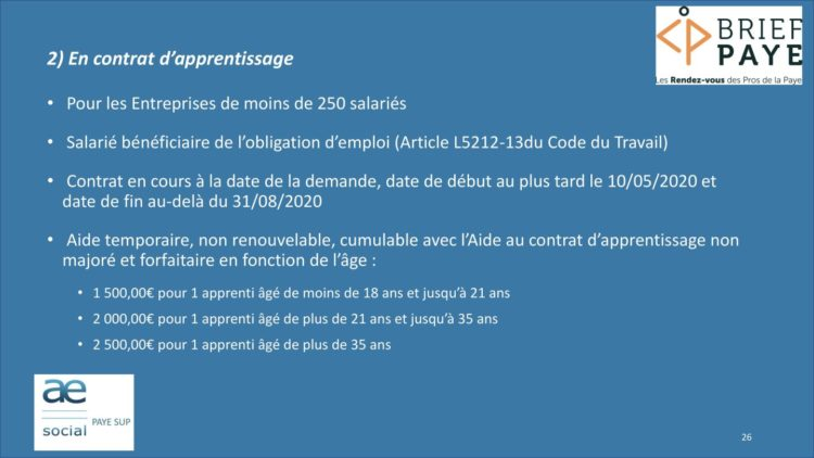 Page 26 750x422 - Replay du webinaire Brief Paye Septembre 2020