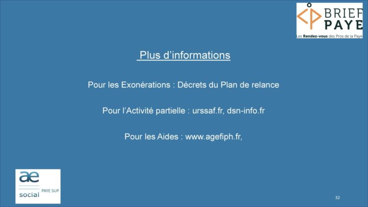 Page 32 750x422 - Replay du webinaire Brief Paye Septembre 2020