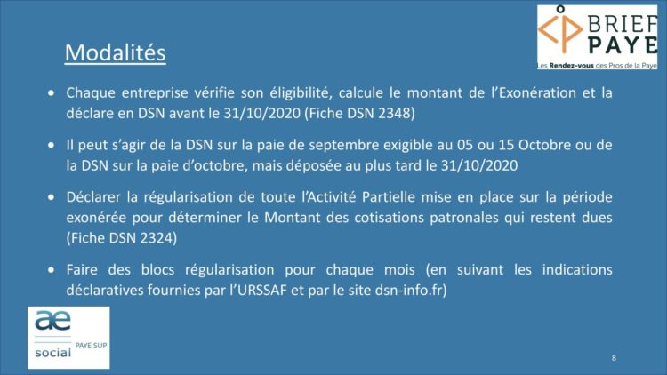 Page 8 750x422 - Replay du webinaire Brief Paye Septembre 2020