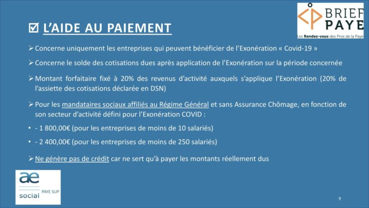 Page 9 750x422 - Replay du webinaire Brief Paye Septembre 2020