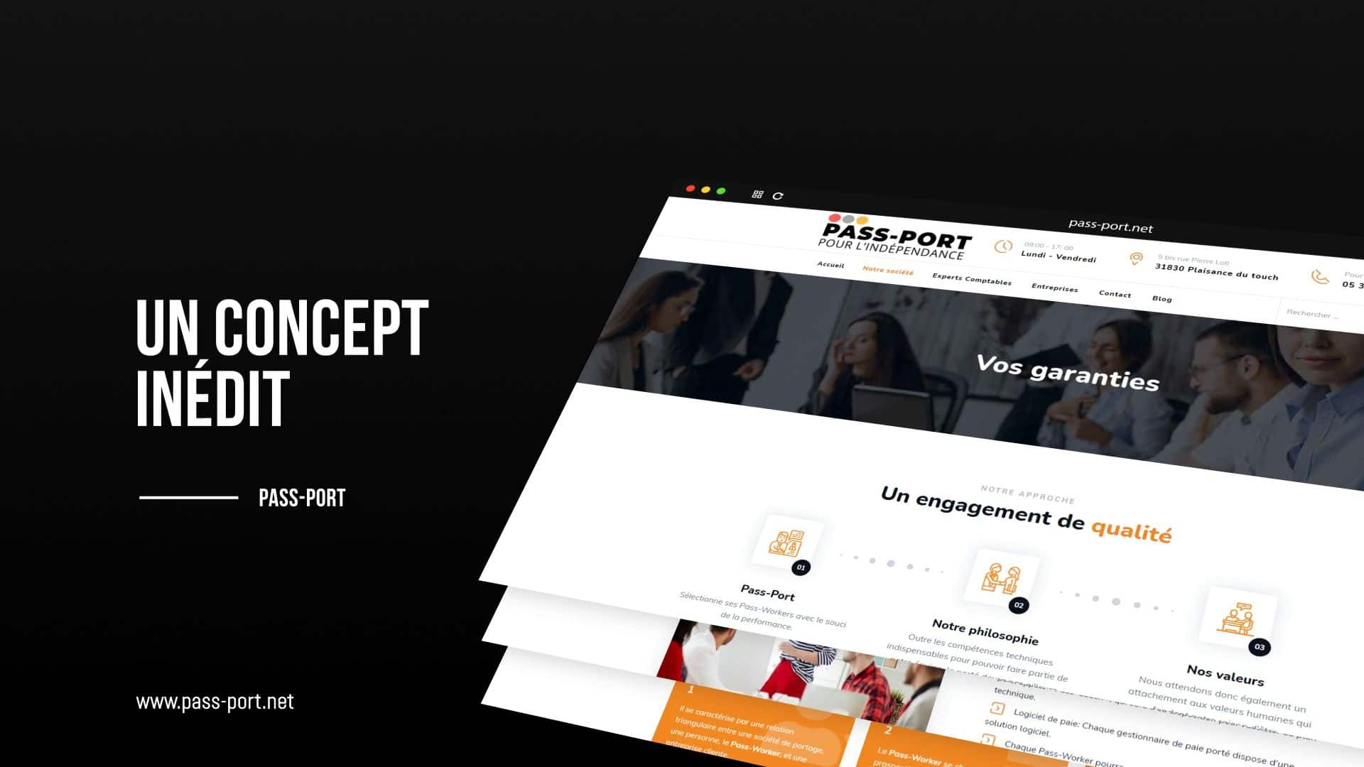 PASS PORT concept inedit  - PASS-PORT, un concept inédit !